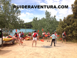 Alquiler de kayaks en las lagunas de ruidera