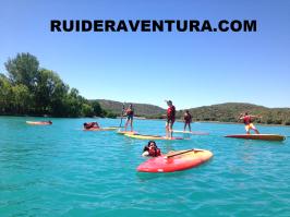 Paddle surf en las Lagunas de Ruidera