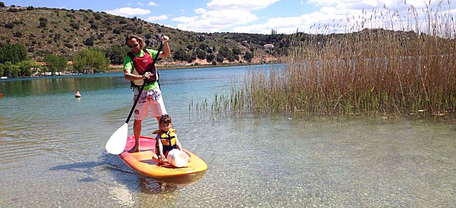 Piraguas o Paddle Surf en las Lagunas de Ruidera