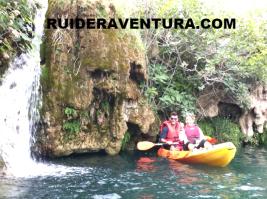 Travesias guiadas kayak en las lagunas de ruidera