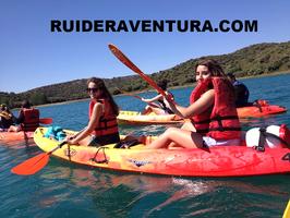 Kayaks, Piraguas en las lagunas de ruidera.
