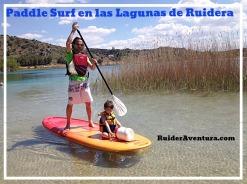 Alquiler o travesias Paddle surf o Kayaks en las Lagunas de Ruidera