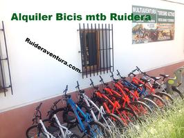 Alquiler de bicicletas y rutas guiadas en las lagunas de ruidera