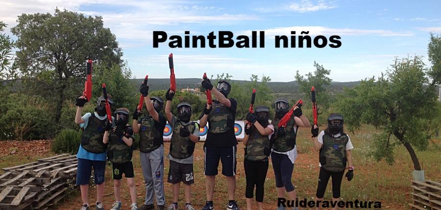 Paintball Lagunas de Ruidera Ruideraventura