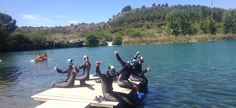 Buceo y Snorkel en las Lagunas de Ruidera